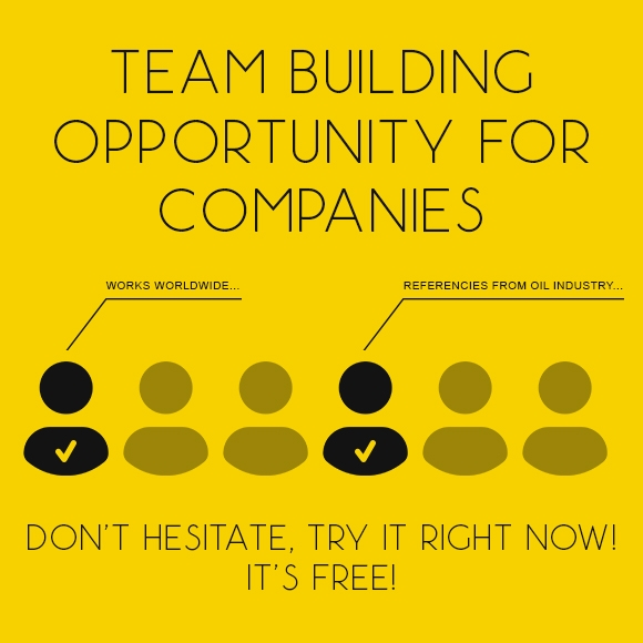 Team building opportunity for companies